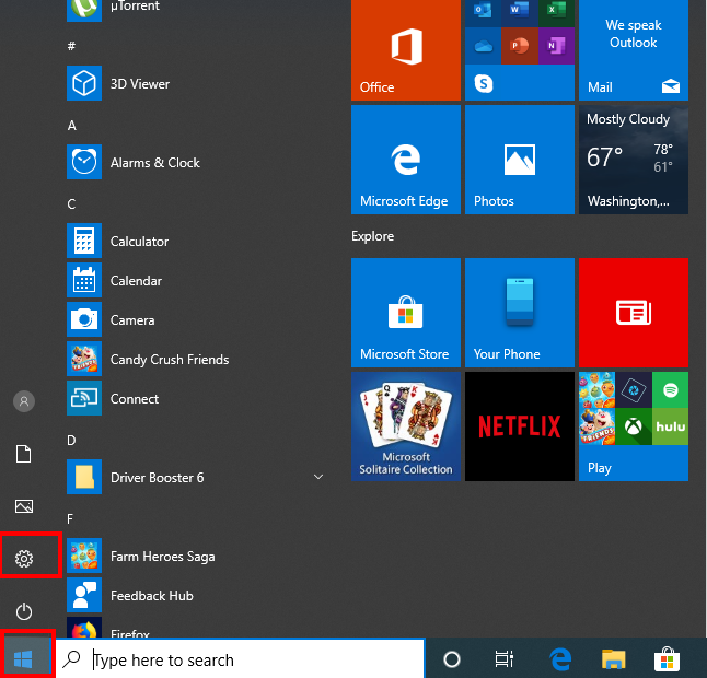 How To Uninstall Windows 10 Updates - Start Menu