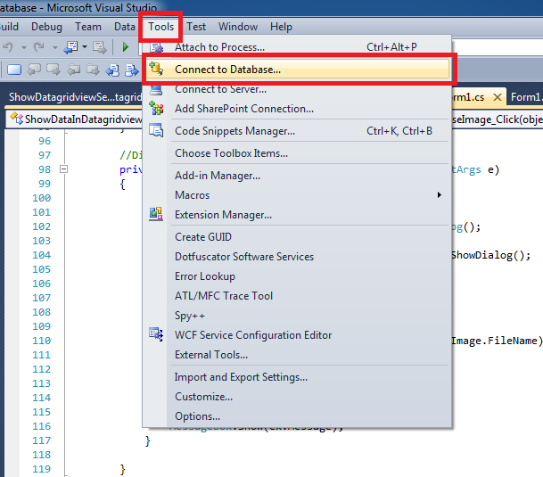 How To Add Ms Access Database To Visual Studio 2010