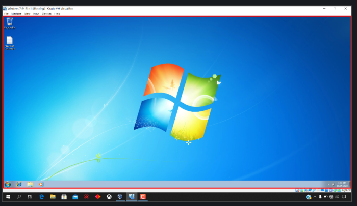 How to Install Windows 7 x64 Bit Ultimate On Oracle VM VirtualBox - Full Screen