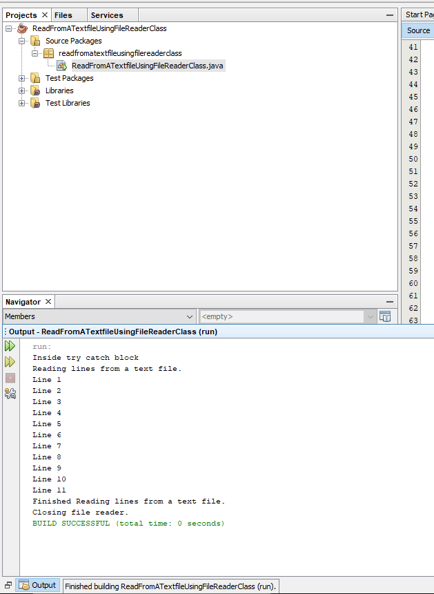 How To Read A Text File In Java Filereader Class